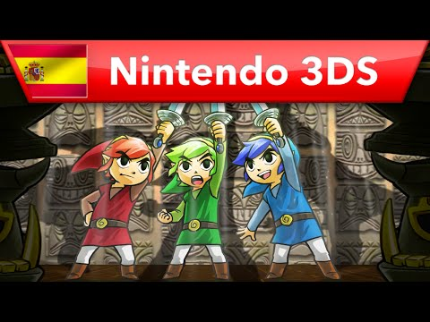 El equipo de The Legend of Zelda: Tri Force Heroes nos explica por qué solo hay 3 personajes