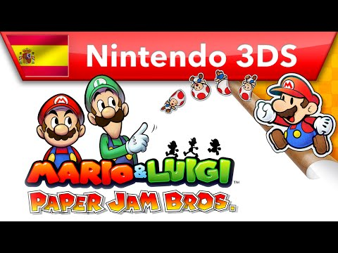 Increíble golpes combinados entre los hermanos Mario y Paper Mario en Mario & Luigi: Paper Jam Bros. - Noticia para Mario & Luigi: Paper Jam Bros.