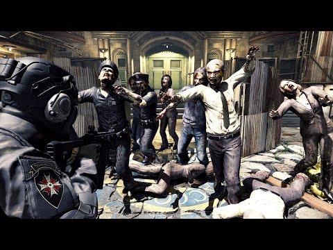 Los mercenarios de Umbrella Corps, listos para acabar con los zombies