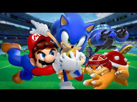 Sonic y Mario vuelven a mostrar sus habilidades deportivas