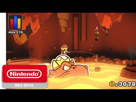 Niveles clásicos saltan al 3D en Paper Mario: Color Splash