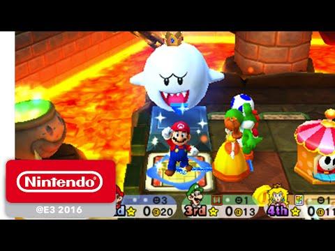 Cuatro jugadores contra colosales jefes en la nueva fiesta de Mario - Noticia para Mario Party Star Rush