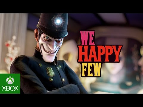Viaja al terrible mundo de We Happy Few, donde la diversión es obligatoria