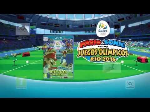 Sonic y Mario vuelven a mostrar sus habilidades deportivas - Noticia para Mario y Sonic en los Juegos Olímpicos de Río 2016