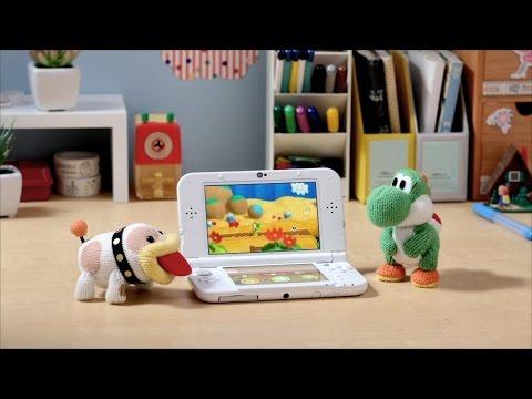Así es Poochie & Yoshi\'s Wooly World en 3DS - Noticia para Yoshi's Woolly World