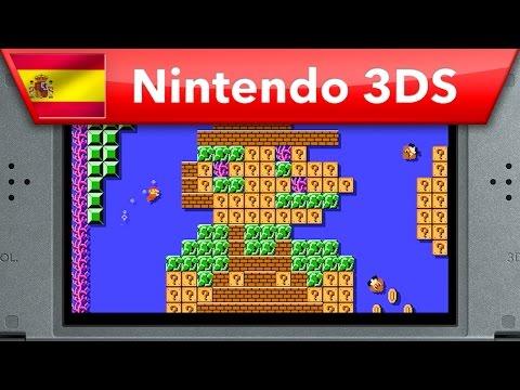 Nintendo nos da un repaso de todas las posibilidades que tiene Super Mario Maker para 3DS