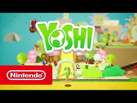 Yoshi se pierde en un nuevo mundo de papel recortable - Noticia para Yoshi's Crafted World