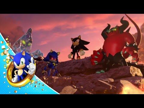 Juega a las tragaperras en un bosque con Sonic