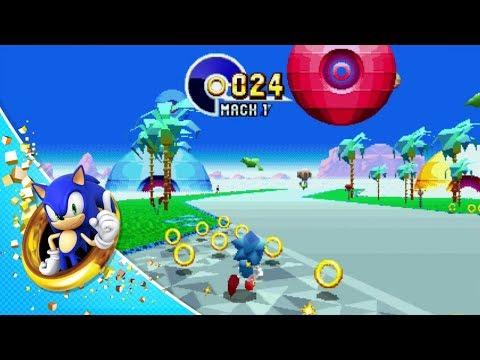Compite con un amigo en los niveles clásicos de Sonic