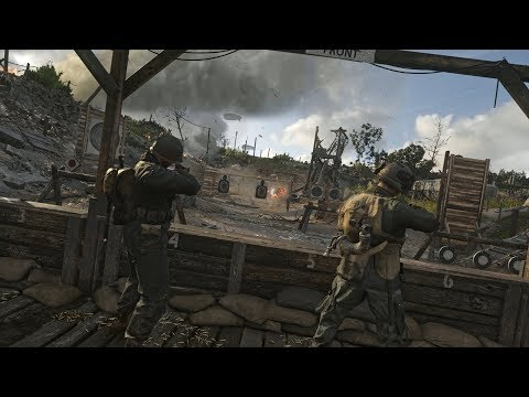 ¿Qué tal unos zombis de Call of Duty WWII?