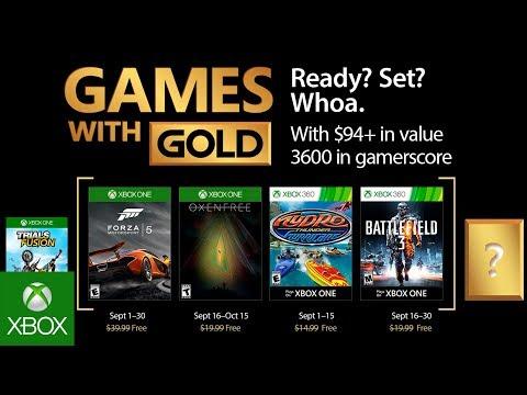 Los juegos gratis de Xbox One y Xbox 360 para octubre de 2017