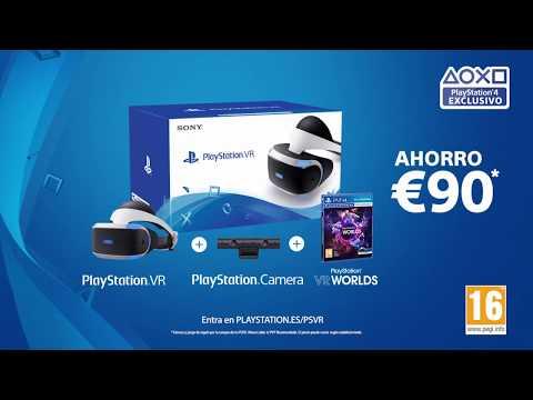 Sony nos ofrece en bandeja la posibilidad de conseguir las VR con el PSVR Mega Bundle