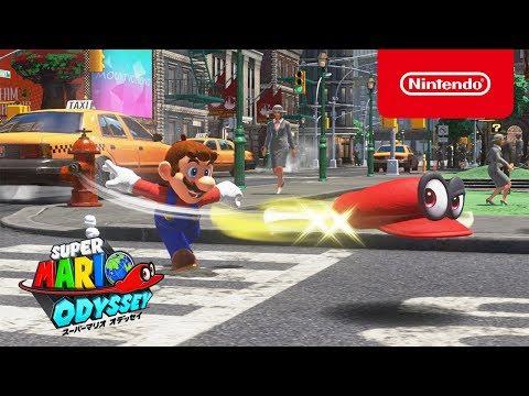 La televisión japonesa se divierte con Super Mario Odyssey