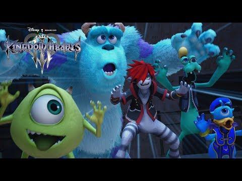 La confirmación de que Monstruos S.A estará presente en el juego - Noticia para Kingdom Hearts III