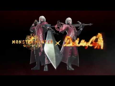 El mejor juego de principios de 2018 se hace aún mejor con Dante - Noticia para Monster Hunter World