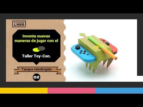 Volante, palanca de mando, pedales... Así es el Toy-Con 3 de Nintendo Labo