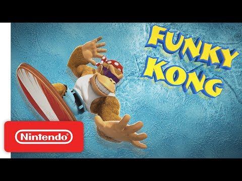 Nintendo nos enseña a Funky Kong, el nuevo personaje jugable para Switch - Noticia para Donkey Kong Country: Tropical Freeze
