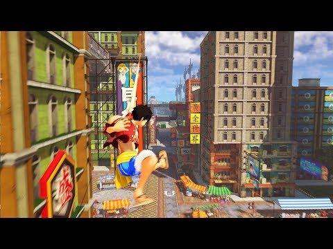 Nuevo tráiler con nuevos entornos y posibilidades de juego - Noticia para One Piece: World Seeker