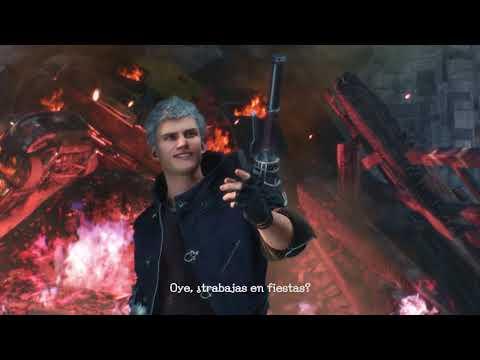 Dante muestra su lado más espectacular y nos enseña sus armas