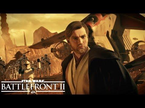 Así luce Ewan McGregor como Obi-Wan Kenobi en la nueva actualización gratuita de La Batalla de Geonosis - Noticia para Star Wars Battlefront 2