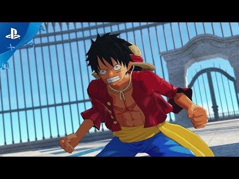 Por primera vez podemos ver el aspecto final del juego en vídeo - Noticia para One Piece: World Seeker