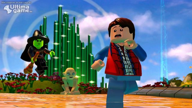 Descubre la cara más divertida de LEGO Dimensions
