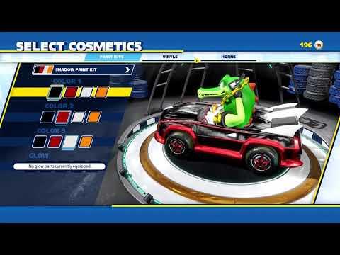 Personaliza tu coche cambiándole colores, ruedas...¡y hasta la bocina! - Noticia para Team Sonic Racing