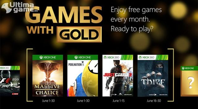 Microsoft desvela sus Games with Gold para el mes de Junio - Noticia para Thief