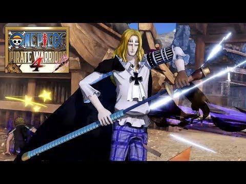 Basil Hawkins, también confirmado como personaje jugable - Noticia para One Piece Pirate Warriors 4