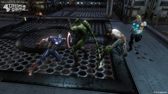 Un espectacular traíler nos enseña a los refuerzos de Marvel Ultimate Alliance