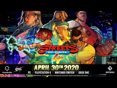 Fecha de lanzamiento confirmada y primer vistazo al modo de combate - Noticia para Streets of Rage 4