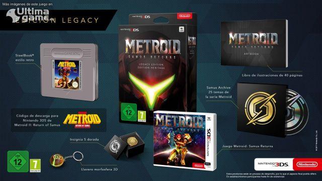En Europa, el nuevo Metroid para Nintendo 3DS tendrá una edición de coleccionista muy chula - Noticia para Metroid: Samus Returns