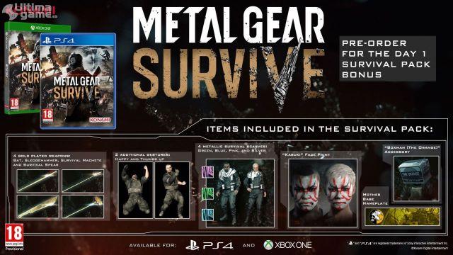 El juego cooperativo ambientado en la franquicia Metal Gear ya tiene fecha de lanzamiento en España - Noticia para Metal Gear Survive