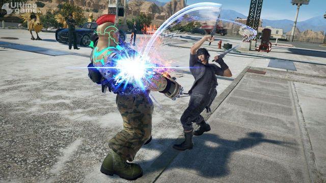 Noctis, el protagonista de Final Fantasy XV, personaje seleccionable en Tekken 7 - Noticia para Tekken 7