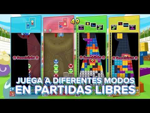 Un vistazo a los modos competitivos - Noticia para Puyo Puyo Tetris 2