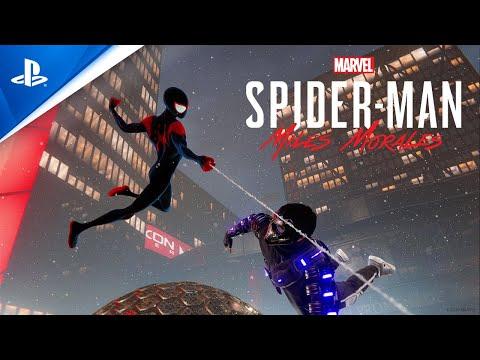 Así de espectacular se ve y se mueve el traje de Spider-Man Un nuevo universo - Noticia para Marvel's Spider-Man: Miles Morales