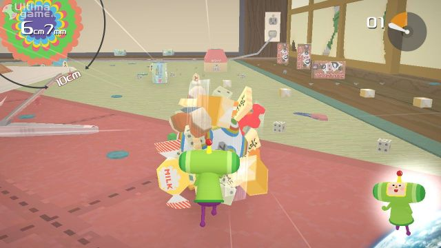 El remake de Katamari Damacy original llegará en formato digital a PC y Switch en diciembre de 2018 - Noticia para Katamari Damacy REROLL
