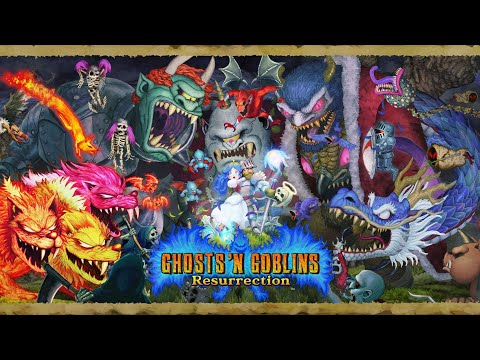 Sir Arthur también paseará su remasterizado en PS4, Xbox One y PC - Noticia para Ghosts 'n Goblins Resurrection