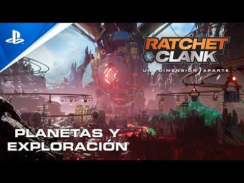 Así son los diferentes entornos de uno de los juegos más bonitos de la nueva generación - Noticia para Ratchet & Clank: Una Dimensión Aparte