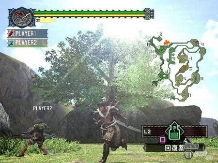 En Europa, Monster Hunter tendrá opción on-line