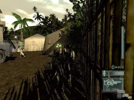 Nuevas imágenes de Splinter Cell: Pandora Tomorrow