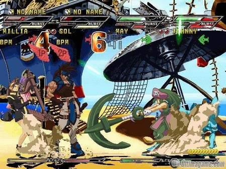 9 nuevas imágenes de Guilty Gear X Isuka para PlayStation 2