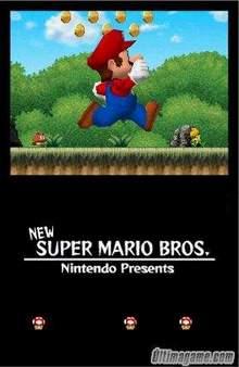New Super Mario Bros en movimiento