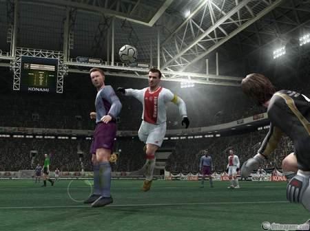 Konami Europa lanza la demo de su esperado simulador de fútbol Pro Evolution Soccer 4