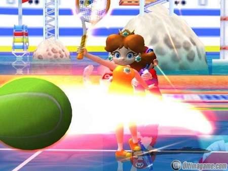 68 nuevas capturas de Mario Power Tennis para GameCube