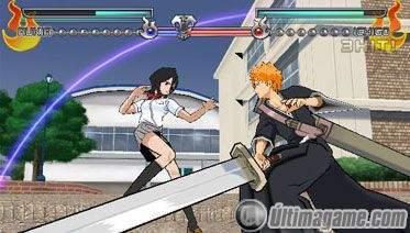 16 nuevas imágenes de Bleach para PSP