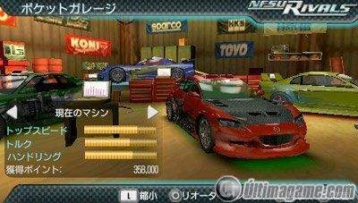 18 nuevas imágenes de Need for Speed Underground Rivals para PSP