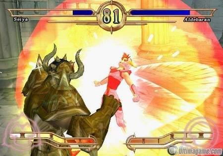 23 nuevas imágenes de Los Caballeros del Zodiaco para PlayStation 2