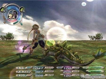 Nuevas imágenes y comerciales japoneses de Grandia 3 para PlayStation 2