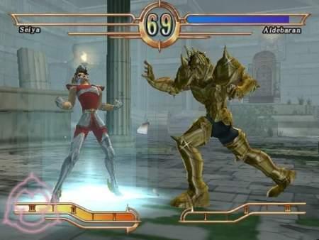 32 nuevas imágenes de Los Caballeros del Zodiaco para PlayStation 2